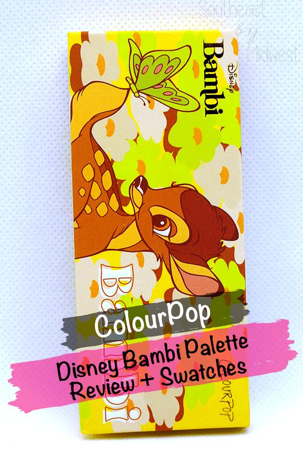 Bambi Palette || Southeast by Midwest #beauty #colourpop #disney #disneyxcolourpop #bambi