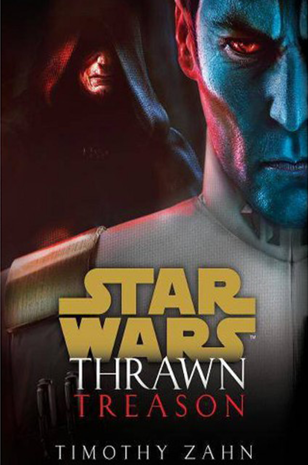 Thrawn Treason by Timothy Zahn || Southeast by Midwest #bookreview #starwars